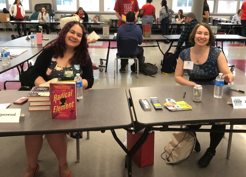 NoVa Teen 2019 - Jessica Spotswood and Robin Talley
