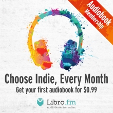 Libro.fm: choose Indie, Every Month
